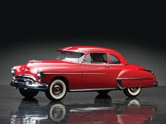 1950 Oldsmobile Futuramic 88 Club Coupe. New cogs/casters could be made of cast polyamide which I can produce