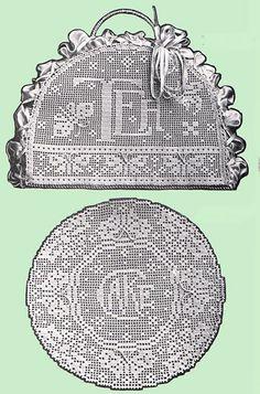 Heirloom Crochet - Vintage Crochet Books - Bucilla Vol 6