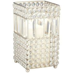 Cristalis Prism Medium Crystal Candleholder -