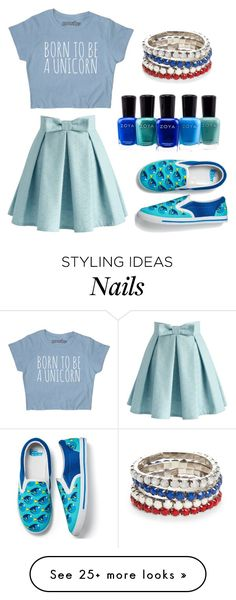 """""""Bez naslova #399"""" by ajna-bih on Polyvore featuring Chicwish, Zoya, Avon and Red Camel"""