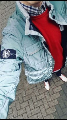 Jacket Men, Leather Jacket, Uk Culture, Football Casuals, Moda Casual, Outfit Grid, Casual Styles, Stone Island, Smart Casual
