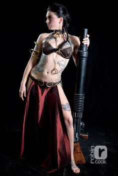 Star Wars Cosplay Photography by Robin Cook Princess Leia Slave, Star Wars Princess Leia, Slave Leia Costume, Leia Star Wars, Images Star Wars, Star Wars Girls, Star Wars Costumes, Star Wars Party, Geek Girls