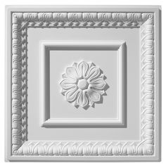 An elegant traditional ceiling tile design, this tile graces the ceilings of fine homes and historic buildings throughout the country Traditional Tile, Traditional Interior, Ceiling Tiles, Wall Tiles, Lotus Artwork, Horseshoe Casino, Interior Ceiling Design, Tile Installation, Commercial Interiors