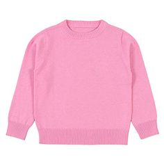 Wennikids Baby Boys Girls O-Neck Toddler Pullover Sweaters Knitted Coats Outwear Sweatshirt 1-6 Years