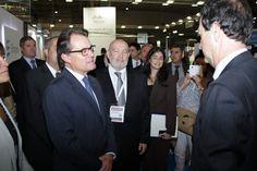 """Inauguración y visita de autoridades al proyecto """"Smart Chemistry, Smart Future"""" (Expoquimia 2014)"""