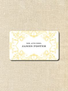Tara Guerard's Taigan Picks: all southern girls must have calling cards and these are the best from Lettered Olive