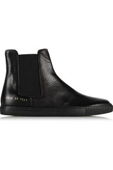 Common Projects Leather Chelsea boots | NET-A-PORTER | 450