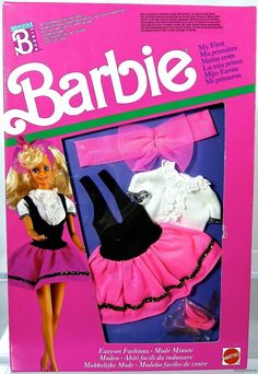 Barbie La Mia Prima Fashions Foreign #9275 New NRFP 1989 Mattel, Inc. 3+ | eBay