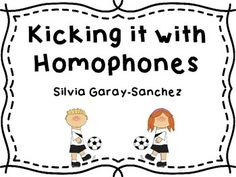 This is a set of homophone word cards great to use as a center.  Students practice reading and matching them.  They practice dictionary skills by looking up the definitions of the words and they write sentences.