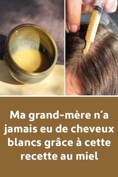 My grandmother by no means had white hair with this honey recipe - Hair Color Grey Hair Remedies, Honey Recipes, Wedding Dresses For Girls, Makeup Revolution, White Hair, Coco, Hairdresser, Girl Hairstyles, Hair Makeup