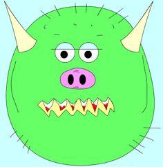 TIC CREA TU MONSTRUO Pikachu, Halloween, Fictional Characters, Art, Monsters, Castles, Create, Games, School