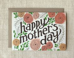 Mother's Day Card by Wit & Whistle