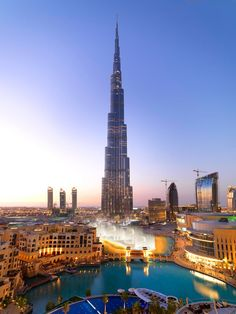 Бурдж-Халифа, Дубай, Объединённые Арабские Эмираты