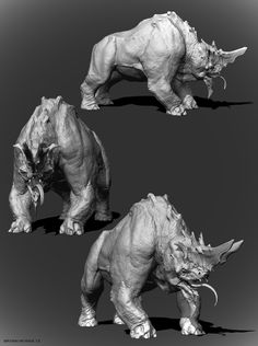 I'll be striving to achieve the quality of these models in my own through my work done in Zbrush.