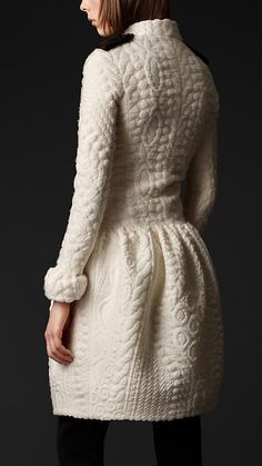 Texture and structure by Burberry