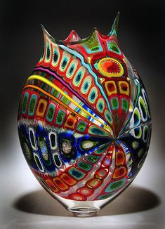 Art Glass Vessel/Vase ~ by David Patchen via flickr photo sharing<3<3<3