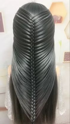 Formal Hairstyles For Long Hair, Braids For Long Hair, Elegant Hairstyles, Twist Hairstyles, Front Hair Styles, Medium Hair Styles, Hair Style Vedio, Bridal Hair Buns, Diy Hair Mask