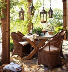 Comedores al aire libre