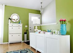 Beautiful light green color