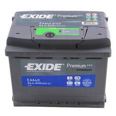 Type 096 Car Battery 760CCA 77Ah Exide Premium 4 Years Warranty OEM Replacement