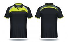 T-shirt polo design, modelo de camisa de esporte. Polo T Shirt Design, Polo Design, Polo Shirt, Camisa Polo, Nba Uniforms, Sports Jersey Design, Sublime Shirt, Sport Wear, Graphic Tees