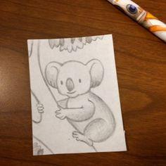 Daily drawing #prompt #koala #kidlitart #illustration #art #artistsofinstagram