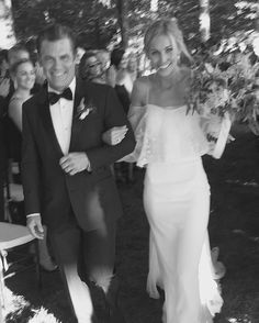 The Sentimental Story Behind Kathryn Boyd's Self-Designed Wedding Dress Layered Wedding Dresses, Self Design, White Dress, Couture, Formal Dresses, Friendship, Happy, Style, Fashion