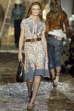Dsquared2 Spring 2006 Ready-to-Wear Fashion Show - Cintia Dicker