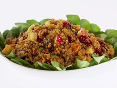 Quinoa, Roasted Eggplant and Apple Salad with Cumin Vinaigrette from FoodNetwork.com