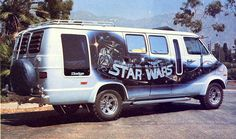 I always thought a van like this would be cool when I was little.