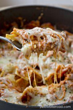 30 minutes One Pot Stovetop Lasagna Recipe ~ Tastes amazing
