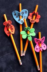 This would be a neat classroom activity for the students to decorate their pencils. 32m64