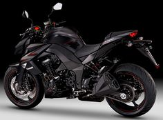 Kawasaki Z 1000 Black Edition, amazing