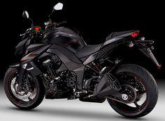 Kawasaki Z 1000 Black Edition, amazing