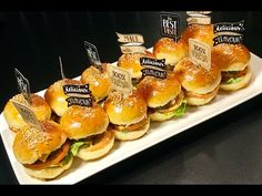 Mini Hamburgers, Snack Recipes, Cooking Recipes, Healthy Recipes, Taste Made, Breakfast Snacks, Halloween Food For Party, Diy Food, Kids Meals