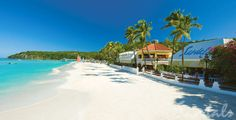 Other direction down the beach. Note all beaches at Antigua are public. This means there will be vendors on the beach.