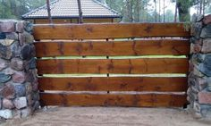 Drewniane Ogrodzenie Rancho Poziome Deski Gostynin - image 7