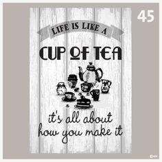 Tekstposters-Cup of tea-45