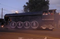 polar express float ideas | The Polar Express float, a popular and imaginative parade entry, is ...