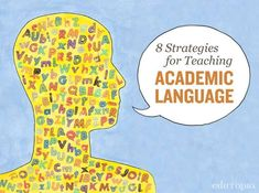 Prepare your students for college with these 8 strategies for teaching academic language. Vocabulary Strategies, Vocabulary Instruction, Academic Vocabulary, Teaching Vocabulary, Instructional Strategies, Teaching Strategies, Teaching Tips, Teaching Reading, Vocabulary Games