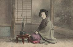 A Japanese woman