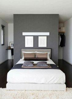 Bedroom Storage For Small Rooms - Unity Fashion Small Room Bedroom, Closet Bedroom, Bedroom Storage, Small Rooms, Modern Bedroom, Master Bedroom, Bedroom Decor, Bedroom Ideas, Contemporary Bedroom