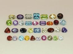 Sale  20.37tcw Mixed Lot of Gemstones from scrap gold silver & vintage jewelry