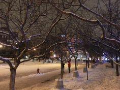 Invierno en Montréal, Qc, Canadá