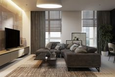 Apartment in Dnipro by Tobi Architects