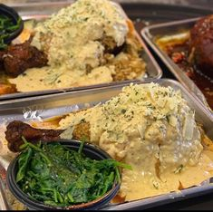 SMOTHERED TURKEY LEG Soul Food Restaurant, Restaurant Plan, Pasta Restaurants, Houston Restaurants, Turkey Recipes, New Recipes, Turkey Leg Hut, Smoked Turkey Legs, Noodles And Company