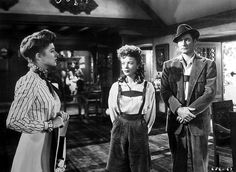 Eleanor Parker, Ida Lupino, Errol Flynn-- Escape Me Never