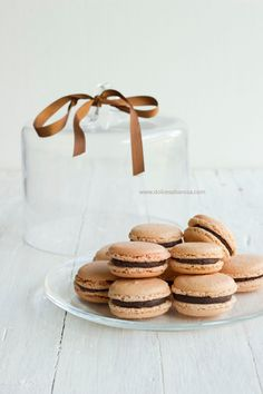 Antique Passion coffee macarons