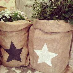 Jute Star Bag