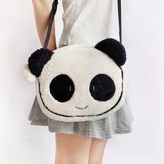panda messenger bag